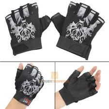 Mens Military Tactical Outdoor Working Cycling Riding Half-Finger Gloves Mittens