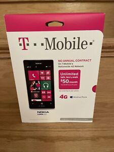 BNIB Nokia Lumia 521 - 8 GB - White (T-Mobile) Smartphone