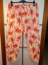 adidas X Jeremy Scott Lilly SP Trackpants Luxus Jogginghose Lilie pink Floral XL