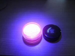 NSI Pink Fluorescent  Black Light Glow in the Dark  Pre-Mixed Acrylic Powder #69
