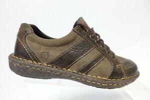 BORN Brown Sz 6 M Women Leather Sneakers