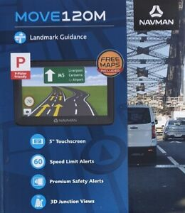 Navman MOVE120M Car GPS✔ Navman Australia✔ Brand New In Box✔ Free Maps
