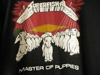 SUPERFISHAL T-SHIRT MASTER OF PUPPIES (XL) HUF 24SF UNDEFEATED MACHUS JEREMY