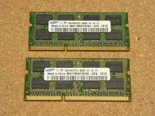 Samsung 4GB PC3-8500S 1066MHz DDR3 SODIMM RAM M471B5673FH0-CF8 Mac & PC (2x 2GB)