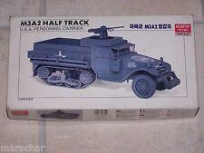 Maquette ACADEMY 1/35ème M3A2 HALF TRACK Motorized with Remote control
