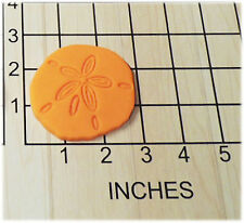 Sand dollar Shaped Fondant Cookie Cutter and Stamp #1147