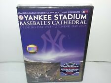 Yankee Stadium: Baseballs Cathedral (DVD w Ticket & Coin, MLB, 2-Discs) NEW