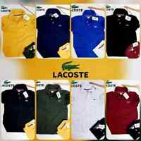 Lacoste Men's Sport Custom Slim Fit  Polo Shirt Red,Black, Navy, Purple XS S,M,L