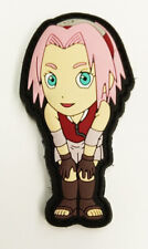 "Naruto Shippuden Sakura Haruno PVC Removable Hook & Loop 2.75"" Patch YAPP0002 US"