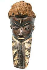 Art Africain - Ancien Masque Muyombo Pende - Ex Collection Européenne - 39 Cms