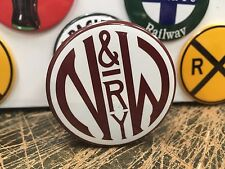 NORFOLK & WESTERN RAILWAY railroad RAILWAY full backed refrigerator MAGNET