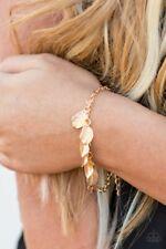 Paparazzi Jewelry, NEW Bright Flight Gold Leaf Bracelet