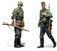 1/35 Resin WWII 2 German Infantryman Soldiers Unassembled Unpainted BL729