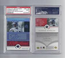 Darren Sproles Rookie Auto  2005 Upper Deck Refl. Graded PSA 9 Mint