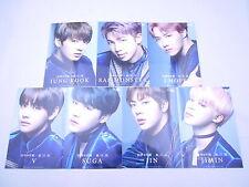 RARE Lot 7 BTS Bangtan Boys BLOOD SWEAT TEARS Photo Set Universal Music Limited