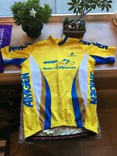 New Amgen Tour of California Medium Yellow Jersey No Tags