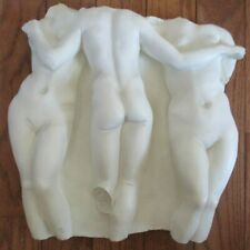 THREE GRACES DESIGN TOSCANO MOLDED WALL HANGING