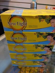 5x New Light Whitening Creme Lemon