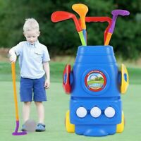 Kids Golf Mini Putter Club Golf Set Plastic Child Funny Sports Play Game Outdoor
