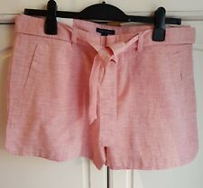TOMMY HILFIGER WOMEN'S SHORTS WITH BELT  CANADIAN SIZE 10 BNWT