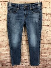 American Eagle Outfitters Sz 2 Short Skinny Stretch Jeans Petite