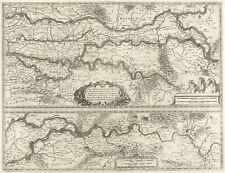 NIEDERRHEIN - NIEDERLANDE & NORDRHEIN-WESTFALEN - Blaeu - Kupferkarte 1635
