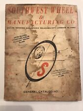 Southwest Wheel & Manufacturing Co. General Catalog No 163-A
