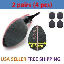 Anti-Slip Shoes Heel Sole Grip Protector Pads Non-Slip Cushion Adhesive 2 Pairs