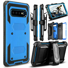 Case For Samsung Galaxy S10 Note 10 Plus 360° Shockproof Hybrid Belt Clip Cover