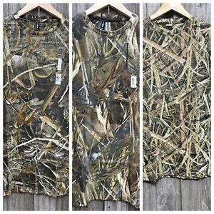 Mossy Oak Realtree Max5 true timber Grass blades Hunting Fishing Camping T-shirt