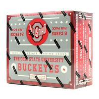2015 Panini Ohio State Buckeyes Hobby Box 24 Pack Factory Sealed
