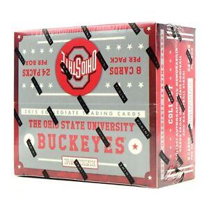 2015 Panini Ohio State Buckeyes Hobby Box 24 Pack Factory Sealed