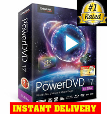 Cyberlink Powerdvd Ultra New Software 17 Power Dell Dvd 8 Sealed Director 0 Wi
