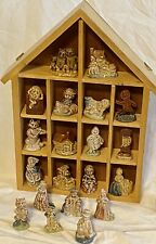 Vintage Wade Porcelain Nursery Rhyme Figurines Lot of 20 Figures Miniatures