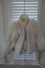 Vintage 1960's Rabbit Fur Womens Jacket Medium Excellent Condition