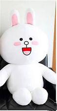 Bear Brown Bunny Cony Fluffy Plush Doll Heart Lover Gift Kawaill
