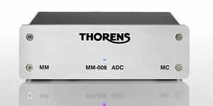 Thorens - MM008 ADC - Moving Magnet and Moving Coil Phono Stage w/ USB out - NEW