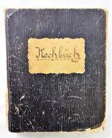 🗝️  Antik - handgeschriebenes Rezeptebuch handschriftliches Buch - Handschrift