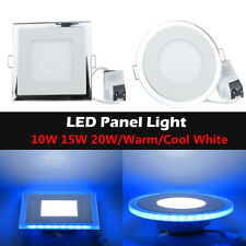 Bright LED Acrylic Ceiling Recessed Downlight 10W 15W 20W Spot Light Lamp+Driver