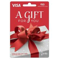 $50 Gift Card. FREE SHIPPING OR FREE THROUGH MESSAGES!!! See description.