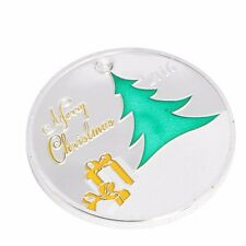 2016 Silver Plated Commemorative Coin Merry Christmas Deer Collectible Gift Art