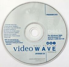 DELL MGI Video Wave v.4.0 upgrade CD, Win 2000/XP 2001 P/N 1J386 A01-00