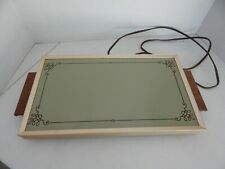 Vintage 1974 Hot Electric Tray by Cornwall Avocado Table-Top Food Warmer