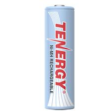 Tenergy AA Size 1.2V 2500mAh High Capacity NiMH Rechargeable Battery Cell AA