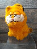 "1981 Vintage GARFIELD Plush Toy DAKIN Stuffed Animal 1981 RARE 5""x 5"""