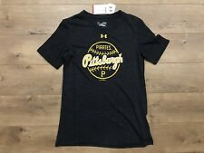 Under Armour UA Pittsburgh Pirates Tri-Blend Baseball Shirt Dark Gray Womens M