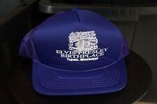 Rare Vintage YOUNGAN Elvis Presley Birthplace Snapback Hat Cap 90s Tourism Retro