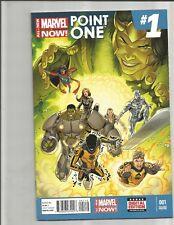 All New Marvel Now! Point One #1 (2014)  1ST FULL KAMALA  KAHN !!! 2ND PRINT!!!