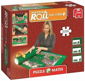 Jumbo Puzzle Mates Portapuzzle Board Storage Case Fastening Straps 1500 Pieces