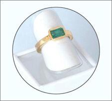Smaragd Ring -schön zu jeder Jahreszeit, verzauberndes Grün - Kolumbien - Gold
